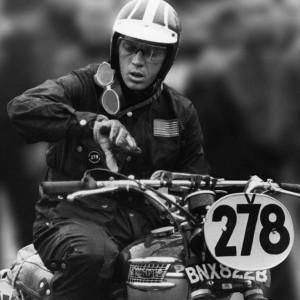 Steve McQueen Barbour Triunph